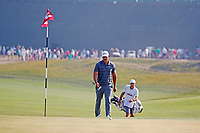 Brooks Koepka (USA) walks up to the 14th green during the 118th U.S. Open Championship at Shinnecock Hills Golf Club in Southampton, NY, USA. 17th June 2018.<br /> Picture: Golffile | Brian Spurlock<br /> <br /> <br /> All photo usage must carry mandatory copyright credit (&copy; Golffile | Brian Spurlock)