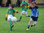 Duleek/Bellewstown B Kyle Callaghan   St Colmcilles Luke Hannon. Photo: Colin Bell/pressphotos.ie