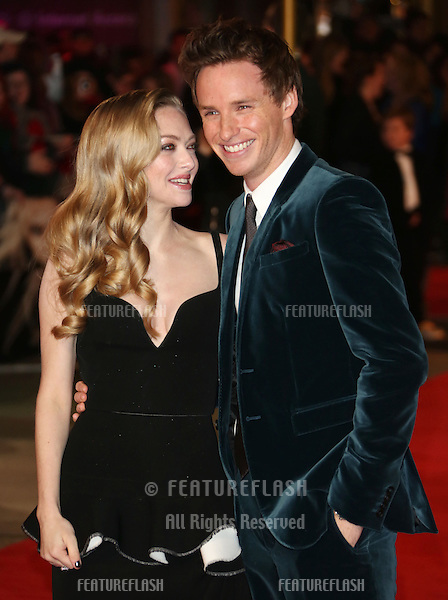 Amanda Seyfried and Eddie Redmayne arriving at the World Premiere of 'Les Miserables' held at the Odeon & Empire Leicester Square, London. 05/12/2012 Picture by: Henry Harris / Featureflash