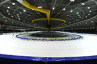 SCHAATSEN: HEERENVEEN: 25-10-2014, IJsstadion Thialf, Marathonschaatsen, KPN Marathon Cup 2, ©foto Martin de Jong