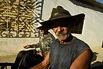 Milk seller and assistant<br /> Trinidad, Cuba