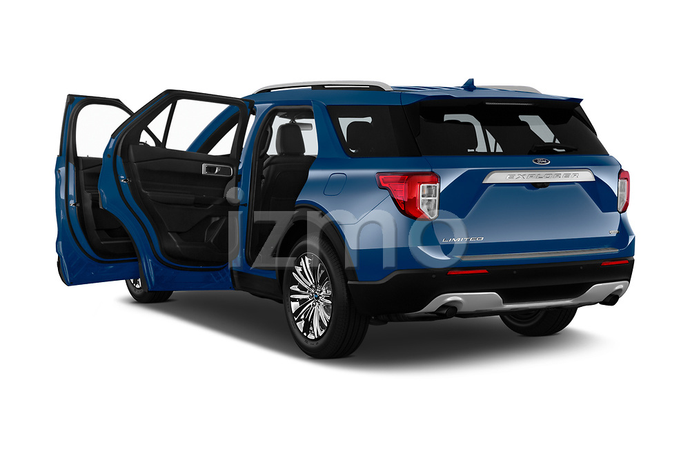 Car images of 2020 Ford Explorer Limited 5 Door SUV Doors