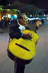 Mexico, Mexico City, Mariachi Player, Plaza Garibaldi, Birthplace of Mariachi