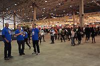 SAO PAULO, 18 DE MAIO DE 2012 - FEIRAO DA CAIXA - Primeiro dia da Feira de imoveis realizada pela Caixa economica, no espaço de exposicoes Imigrantes, regiao sul da capital. FOTO: ALEXANDRE MOREIRA - BRAZIL PHOTO PRESS