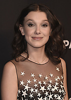 "HOLLYWOOD, CA - MARCH 25:  Millie Bobby Brown at PaleyFest 2018 - ""Stranger Things"" at the Dolby Theatre on March 25, 2018 in Hollywood, California. (Photo by Scott KirklandPictureGroup)"