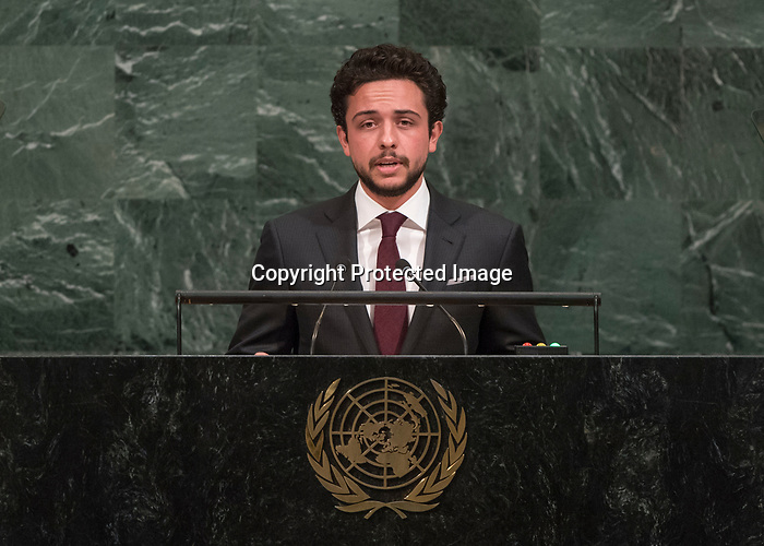 72 General Debate – 20 September <br /> <br /> by His Royal Highness Al Hussein bin Abdullah II, Crown Prince of the Hashemite Kingdom of Jordan