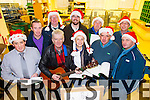 An Post Carol Singers who are singing outside Penneys, Tralee on Saturday December 20th at 4pm and Christmas Eve at 2.30pm, as they raising funds for the MS local branch, are  l-r: Danny Roche, Mikey Wall, Michael Gaffney, Donncadh O'Sullivan, Alan O'Sullivan,  Martina Leen, Henry Burrows, John White Donal McCarthy and Michael O'Callaghan.