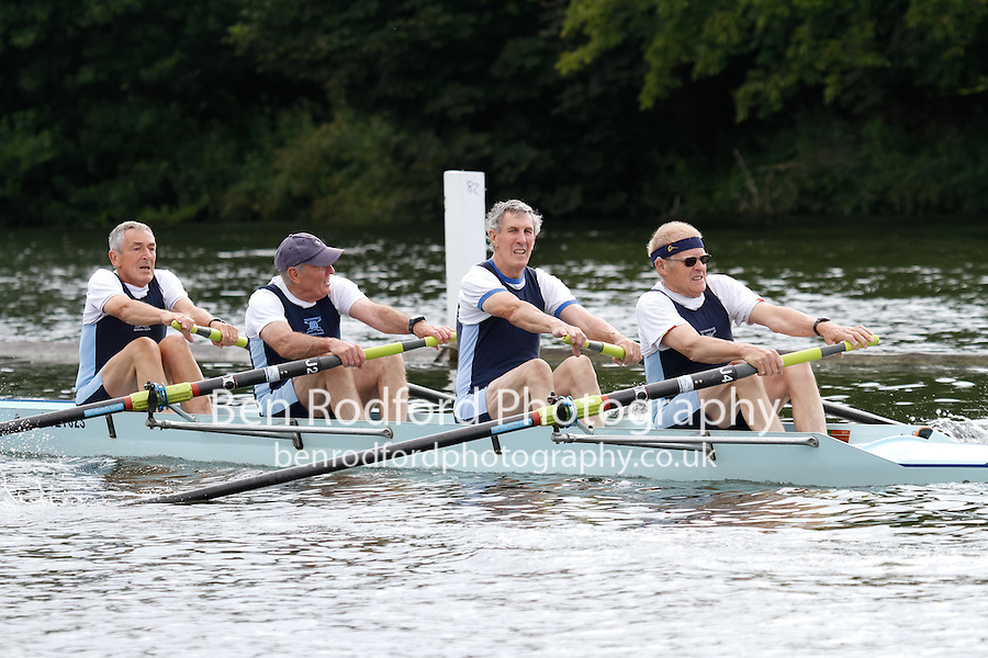 MasH.4- SF -  Berks: 111 RV Breda (NED) -  Bucks: 112 Weybridge RC<br /> <br /> Friday - Henley Masters Regatta 2016<br /> <br /> To purchase this photo, or to see pricing information for Prints and Downloads, click the blue 'Add to Cart' button at the top-right of the page.