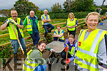 Members of the The Spa village Tidy Towns working hard on Saturday.<br /> Front Right: Louise Moran. <br /> Kneeling: Lucy Flaherty and Rosie Falvey. <br /> Back l to r: Kieran O'Callaghan, Alan Doyle, Tommy Flaherty, Fergal Fitzgibbon and Veronica Kelly