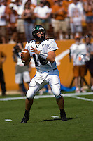 02 September 2006: University of North Texas quarterback Matt Phillips drops back to pass during the game against the University of Texas Longhorns at Darrell K Royal Memorial Stadium in Austin, TX.