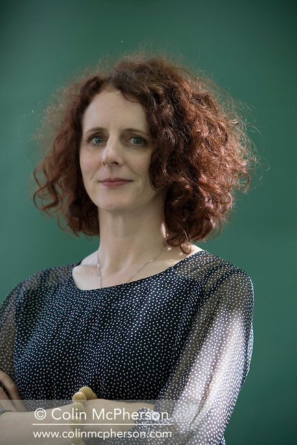 Acclaimed Northern Irish author Maggie O'Farrell, pictured at the Edinburgh International Book Festival where she talked about her latest novel entitled 'The Hand That First Held Mine'. The three-week event is the world's biggest literary festival and is held during the annual Edinburgh Festival. The 2011 event featured talks and presentations by more than 500 authors from around the world..