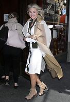 APR 16 Christie Brinkley at Sardi's