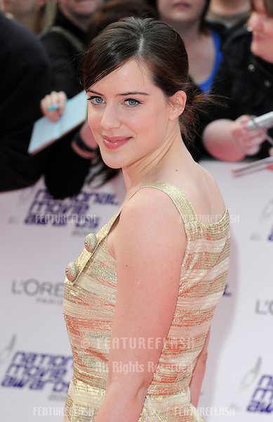 Michelle Ryan attends the National Movie Awards at Royal Festival Hall, London. 26/05/ 2010.Picture By: Gerry Copper / Featureflash..
