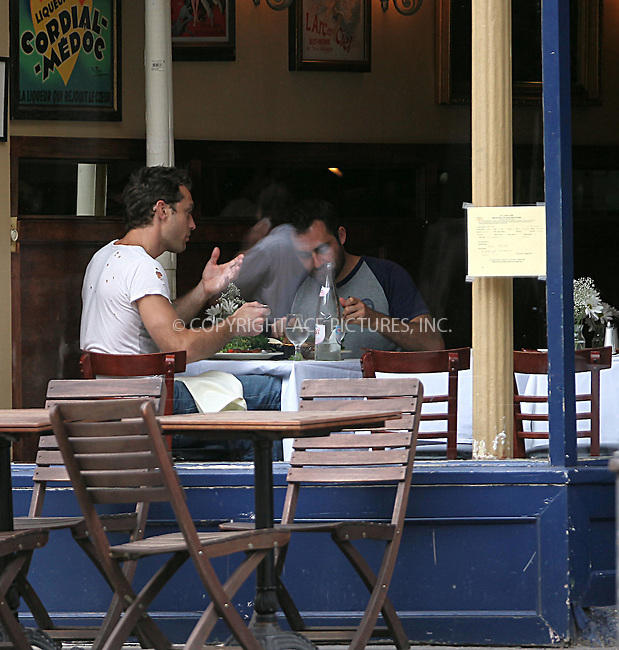 WWW.ACEPIXS.COM . . . . .  ....September 24 2009, New York City....Actor Jude Law eats in a restaurant in Soho on September 24 2009 in New York City....Please byline: NANCY RIVERA- ACE PICTURES.... *** ***..Ace Pictures, Inc:  ..tel: (212) 243 8787 or (646) 769 0430..e-mail: info@acepixs.com..web: http://www.acepixs.com