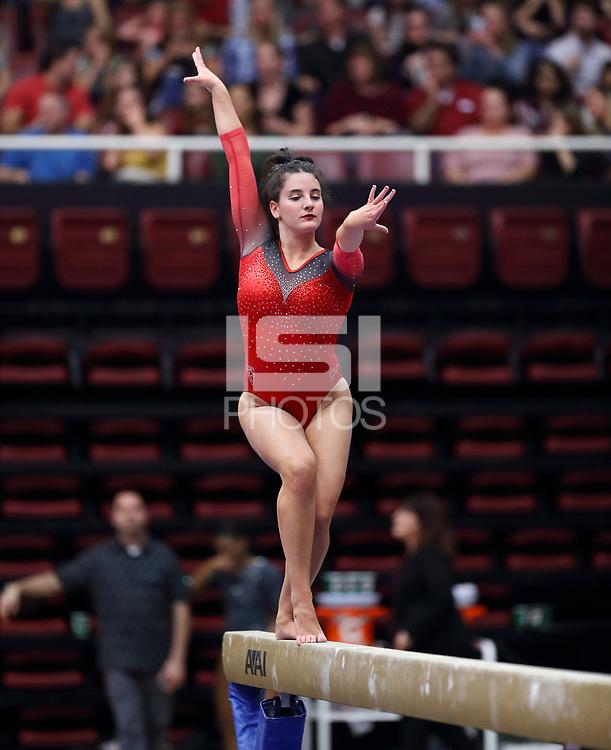 Stanford, CA; January 27, 2019; Women's Gymnastics, Stanford vs UCLA.