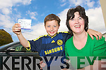 David and anne Rogers, Farmers Bridge, Tralee who traveled to London over land to see Chelsea play over the weekend.