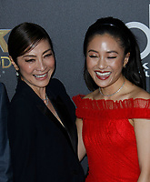 NOVEMBER 04: Michelle Yeoh (L) and Constance Wu attend the 22nd Annual Hollywood Film Awards at The Beverly Hilton Hotel on November 4, 2018 in Beverly Hills, California.  <br /> CAP/MPI/SPA<br /> &copy;SPA/MPI/Capital Pictures