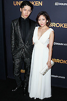 HOLLYWOOD, LOS ANGELES, CA, USA - DECEMBER 15: Miyavi, Takamasa Ishihara arrive at the Los Angeles Premiere Of Universal Pictures' 'Unbroken' held at the Dolby Theatre on December 15, 2014 in Hollywood, Los Angeles, California, United States. (Photo by Xavier Collin/Celebrity Monitor)