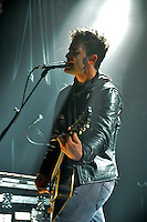 Robert Levon Been from California based rock band Black Rebel Motorcycle Club performs at The Fillmore Theater NYC