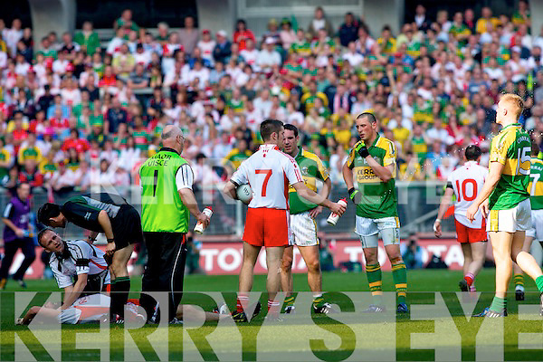 Kerry v Tyrone All ireland Final 2008 at Croke Park Dublin 21st September 2008.