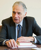 Ralph Nader, Interview with Quattroruote Magazine