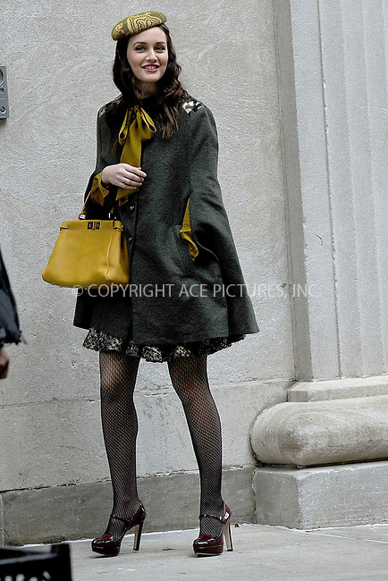 WWW.ACEPIXS.COM . . . . . .October 31, 2011, New York City....Leighton Meester on the set of the TV show 'Gossip Girl' on October 31, 2011 in New York City ....Please byline: KRISTIN CALLAHAN - ACEPIXS.COM.. . . . . . ..Ace Pictures, Inc: ..tel: (212) 243 8787 or (646) 769 0430..e-mail: info@acepixs.com..web: http://www.acepixs.com .
