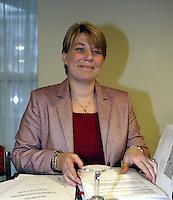 20031213, Rotterdam,  ALV, KNLTB, K van Bijsterveld