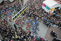 race start<br /> <br /> 105th Scheldeprijs 2017 (1.HC)<br /> 1day race: Mol &gt; Schoten 200km