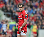 Andrew Smith of Munster - European Rugby Champions Cup - Sale Sharks vs Munster -  AJ Bell Stadium - Salford- England - 18th October 2014  - Picture Simon Bellis/Sportimage