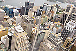 Downtown Sydney, Australia from Sydney Tower.