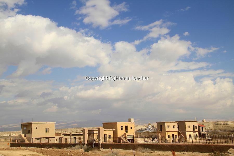 Jordan Valley, deserted Ethiopian Orthodox Monastery in Qasr al Yahud