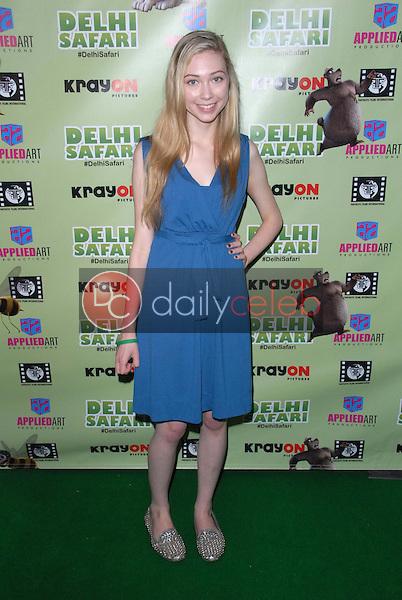 "Athena Baumeister<br /> at the ""Delhi Safari"" North American Premiere, Pacific Theaters, Los Angeles, CA 12-03-12<br /> David Edwards/DailyCeleb.com 818-249-4998"