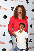 """LOS ANGELES - NOV 18:  Kym Whitley, Joshua Whitle at the The Neighbohood Celebrates the """"Welcome to Bowling"""" Episode at Pinz Bowling Alley on November 18, 2019 in Studio City, CA"""