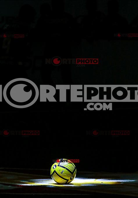 Partido de vuelta  y MiniGame entre Soles de Sonora vs San Diego Sockers, durante las semifinales de la Major Arena Soccer League (MASL) realizado en el Centro de Usos Multiples (CUM) de Hermosillo,  Sonora Mexico.<br /> Foto: Luis Gutierrez