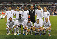 The U.S. Starting XI.  The U.S. Men's National Team tied Poland 2-2 at Soldier Field in Chicago, IL on October 9, 2010.