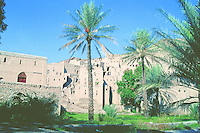 Barkat Al-Moz old village at Nizwa city in the Dakhilyah governate