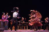 LONDON, ENGLAND - Ballet Flamenco Eva Yerbabuena at Sadler's Wells Flamenco Festival, Eva Yerbabuena and Eduardo Guerrero dancing