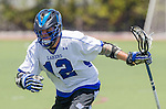 Orange, CA 05/17/14 - BrendenAustin (Grand Valley State #12) in action during the 2014 MCLA Division II Men's Lacrosse Championship game between Grand Valley State University and St John University at Chapman University in Orange, California.  Grand Valley Defeated St John 12-11.