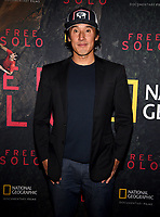 "WEST HOLLYWOOD - NOVEMBER 11: Jimmy Chin attends a screening of National Geographic's ""Free Solo"" at Pacific Design Center on November 11, 2018 in West Hollywood, California. (Photo by Frank Micelotta/National Geographic/PictureGroup)"