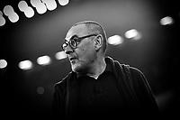 Maurizio Sarri coach of Juventus <br /> Torino 22/10/2019 Juventus Stadium <br /> Football Champions League 2019//2020 <br /> Group Stage Group D <br /> Juventus - Lokomotiv Moscow  <br /> Photo Andrea Staccioli / Insidefoto