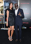 Djimon Hounsou & Kimora Lee at the Warner Bros. Premiere of Inception held at The Grauman's Chinese Theatre in Hollywood, California on July 13,2010                                                                               © 2010 Debbie VanStory / Hollywood Press Agency