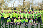 Kerry Crusaders: Members of the Kerry Cruasders who are taking part in the Tralee half/full marathon pictured at Listowel Community Centre on Saturday morning last