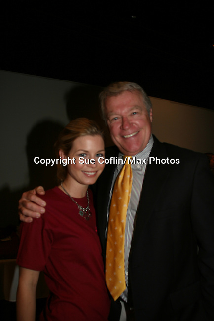All My Children's Stephanie Gatschet and Jerry VerDorn at the 2009 Daytime Stars and Strikes to benefit the American Cancer Society on October 11, 2009 at the Port Authority Leisure Lanes, New York City, New York. (Photo by Sue Coflin/Max Photos)