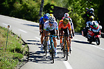 Kazakh Champion Alexey Lutsenko (KAZ) Astana and Olympic Champion Greg Van Avermaet (BEL) CCC Team lead the breakaway during Stage 6 of Tour de France 2020, running 191km from Le Teil to Mont Aigoual, France. 3rd September 2020.<br /> Picture: ASO/Pauline Ballet | Cyclefile<br /> All photos usage must carry mandatory copyright credit (© Cyclefile | ASO/Pauline Ballet)