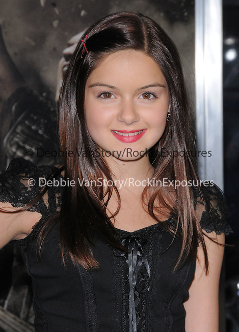Ariel Winter at The Warner Bros. Pictures L.A. Premiere of Clash of The Titans held at The Grauman's Chinese Theatre in Hollywood, California on March 31,2010                                                                   Copyright 2010  DVS / RockinExposures