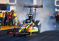 Jul 28, 2017; Sonoma, CA, USA; NHRA top fuel driver Troy Coughlin Jr during qualifying for the Sonoma Nationals at Sonoma Raceway. Mandatory Credit: Mark J. Rebilas-USA TODAY Sports