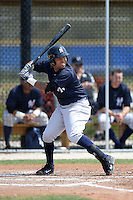 Shortstop Cito Culver (2) of the New York Yankees organization during a minor league spring training game against the Toronto Blue Jays on March 16, 2014 at the Englebert Minor League Complex in Dunedin, Florida.  (Mike Janes/Four Seam Images)