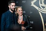 """David Broncano and Belen Esteban attends """"Iris Academia de Television' awards at Nuevo Teatro Alcala, Madrid, Spain. <br /> November 18, 2019. <br /> (ALTERPHOTOS/David Jar)"""