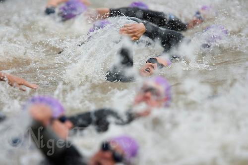 20 JUL 2008 - MANLEY, UK - Kelly Crickmore - Deva Divas Triathlon. (PHOTO (C) NIGEL FARROW)