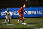 SALEM, VA - DECEMBER 3:Marisa Weaver and Megan Nicklay (19) battle for the ball during theDivision III Women's Soccer Championship held at Kerr Stadium on December 3, 2016 in Salem, Virginia. Washington St Louis defeated Messiah 5-4 in PKs for the national title. (Photo by Kelsey Grant/NCAA Photos)